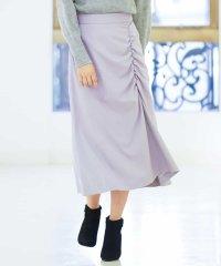ギャザーアップナロースカート
