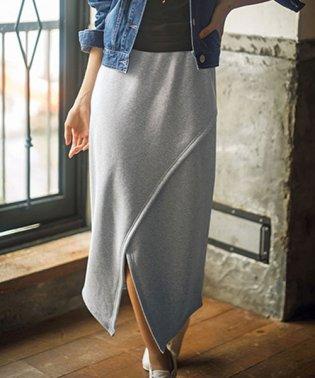 裏シャギーラップ風スカート