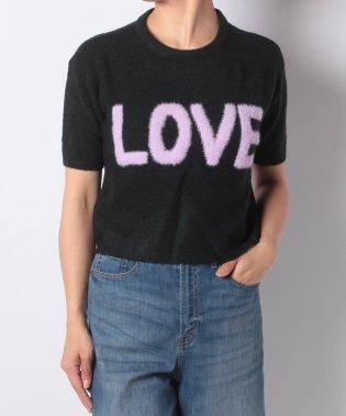 LOVE ショートニットPO