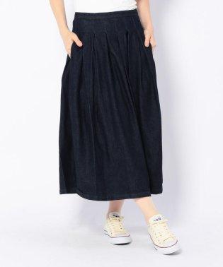 GRANDMA MAMA DAUGHTER/グランマママドーター デニムプリーツスカート