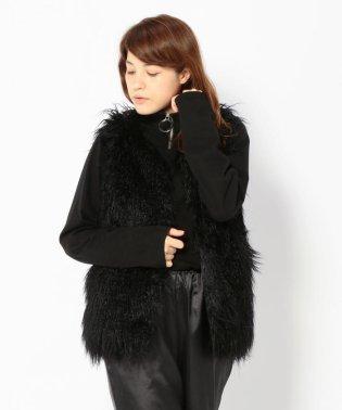 Chica/チカ/Fur Long Vest