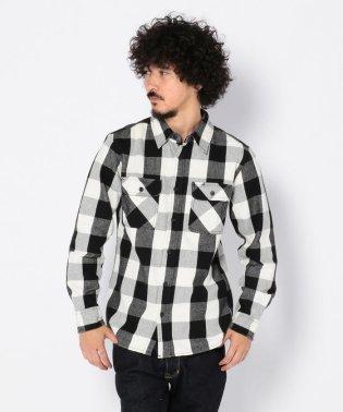 AVIREX/アヴィレックス/デイリー フランネル ブロックチェックシャツ/FLANNEL BROCK CHECK SHIRT