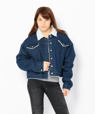 Chica/チカ/Oversize Boa DenimJacket