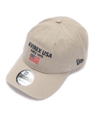 ×ニューエラ/ポロキャップ USA国旗/AVIREX×NEW ERA 9TWENTY POLO CAP U.S.A FLAG