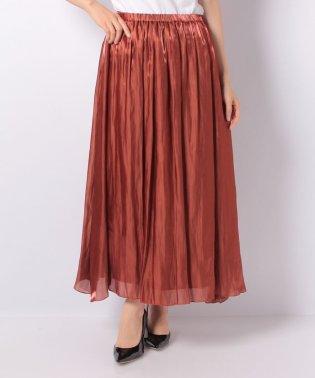 ロングキャザースカート