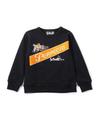 【KIDS】SCHOTT/ショット/PERFECT SWEAT/パーフェクトロゴ トレーナー