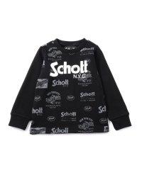 【KIDS】SCHOTT/ショット/LOGO SWEAT/裏毛 ロゴ トレーナー