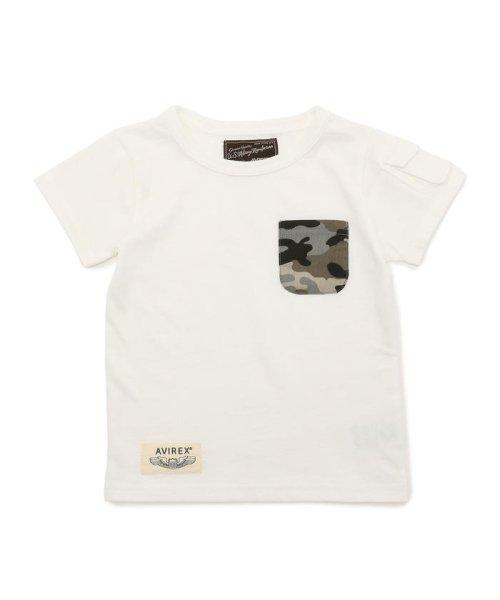 afa2ee9542ce5 セール】AVIREX/アヴィレックス/ 迷彩ポケット Tシャツ/ CAMOUFLAGE ...