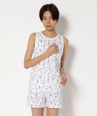 JE MORGAN/JEモーガン 花柄TANK TOP/タンクトップ