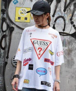 【別注】Guess×ROYAL FLASH/ゲス ロゴプリント Tシャツ