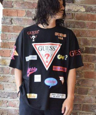 【至極の逸品】【別注】Guess×ROYAL FLASH/ゲス ロゴプリント Tシャツ
