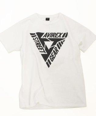 【AVIREX STREET GEAR】AVIREX/アヴィレックス/半袖 アヴィレックス ストリートギア Tシャツ/AVIREX STREET GEAR T-