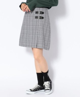 chica/チカ/グレンチェックスカート