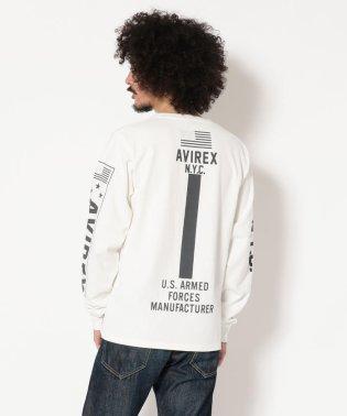 AVIREX/アヴィレックス/長袖 袖ロゴ & N.Y.C.Tシャツ/L/S SLEEVE LOGO & N.Y.C. T-SHIRT