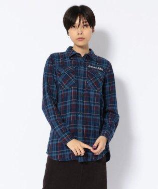 AVIREX/アヴィレックス/TYPE BLUE/インディゴ チェックワークシャツ/INDIGO CHECK WORK SHIRT