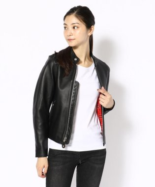 【Women's】CAFE RACER JACKET SOLID/カフェレーサー ジャケット ソリッド