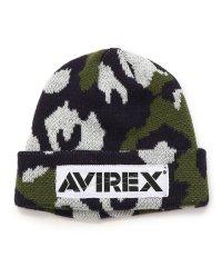 KIDS/AVIREX/アヴィレックス/キッズ カモ柄ニットキャップ/CAMO KNIT CAP