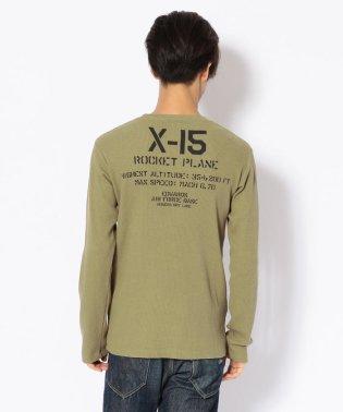 AVIREX/アヴィレックス/ ミニワッフル  クルーネック Tシャツ/ MINI WAFFLE CREW NECK T-SHIRT