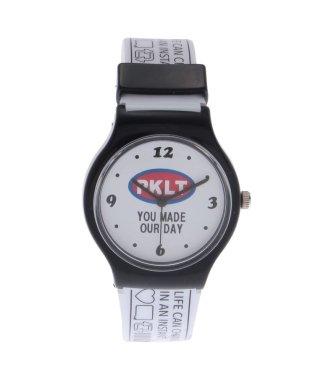 ロゴビニベルト腕時計