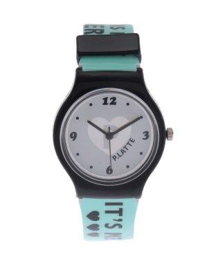 ホログラムロゴベルト腕時計