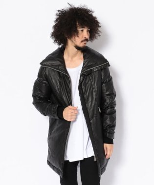 CDM BY CARPEDIEM/シーディーエム バイ カルペディエム/sheep leather down jacket/シープレザーダウンジャケット
