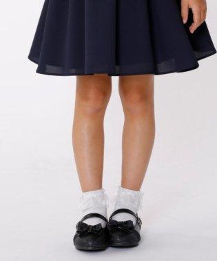 【KIDS雑貨】グリッターバレエシューズ (17~21cm)