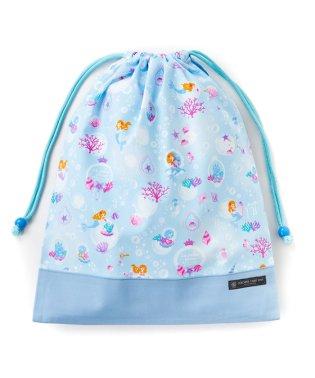 巾着 大 体操服袋(ネームタグ付き) マーメイドと輝く光のフィルハーモニー × オックス・サックス