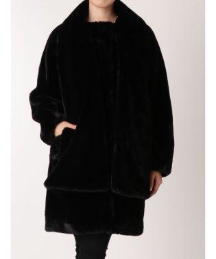 スカーフドッキングコート