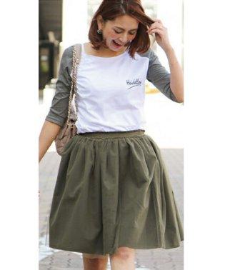 ラグラン ポイントロゴ Tシャツ
