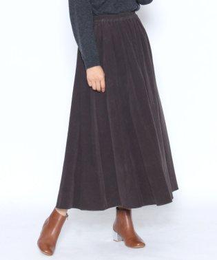 【スール soeur7】コーデュロイ フレア ロングスカート