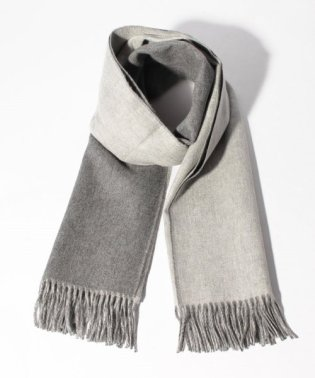 【Johnstons】Contrast Reversible Stole