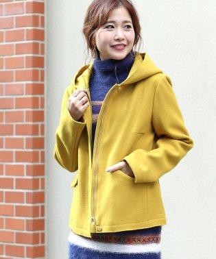 ◆ストレッチ素材で着やすい◆ジャージメルトンショートジャケット