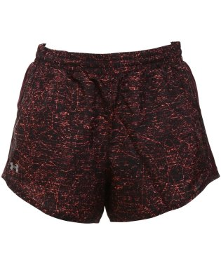 アンダーアーマー/レディス/UA FLY BY PRINTED LNRLSS SHORT