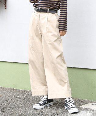 チノセミワイド8分丈パンツ