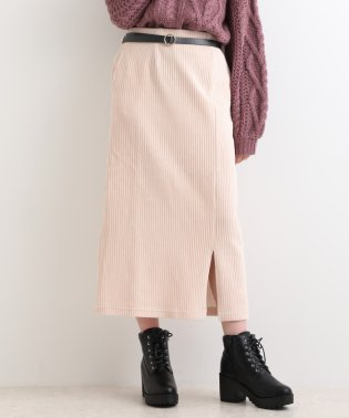 スリット入りロングタイトスカート