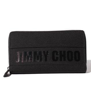 【JIMMYCHOO】ラウンドファスナー財布 JIMMY CHOO CANVAS