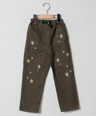星柄半端丈パンツ