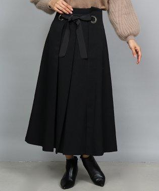 GRANDTABLE(グランターブル)ウールライクハトメリボンスカート