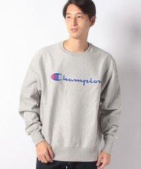 Champion チャンピオン Life Men's Reverse Weave Crew Chain Stitch Script Logo