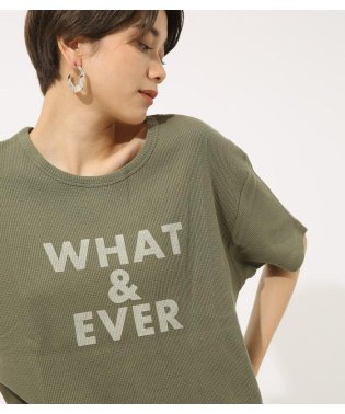 WHAT&EVER TEE