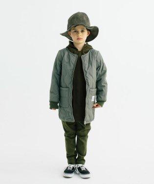 SMOOTHY / レイヤード キルトコート (90~140cm)