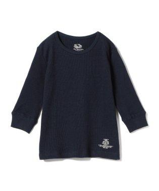 SMOOTHY × FRUIT OF THE LOOM /サーマル 7分袖 Tシャツ18 (90~140cm)