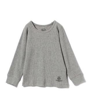 SMOOTHY × FRUIT OF THE LOOM / サーマル ラグラン スリーブ Tシャツ 18 (90~140cm)