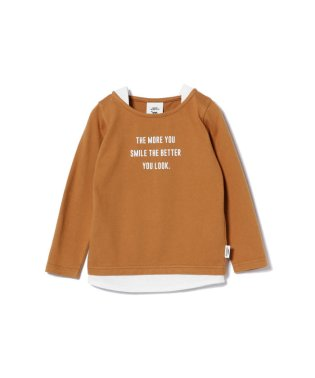 SMOOTHY / レイヤー 長袖Tシャツ (90~140cm)