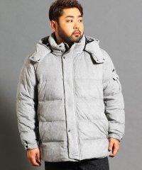 <大きいサイズ>ミドル丈ダウンジャケット