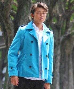 Pコート メンズ ピーコート 長袖 コート メルトン ウール Pコート きれいめ ショート丈 人気 学生 スクール アウター 上品 きれいめ アウター トラッド