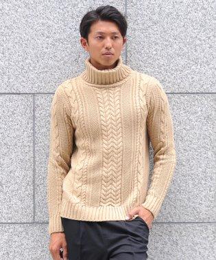 セーター ニットフィッシャーマンメンズ タートルネック ハイネック ニットソー セーター sweater きれいめ ブラック グレー 白 ホワイト 紺 ネイビー