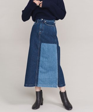 <Calvin Klein Jeans>パッチワークデニムスカート