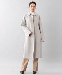 <DoubleFaced Coat>ウールリバーシングルバルマカーンコート