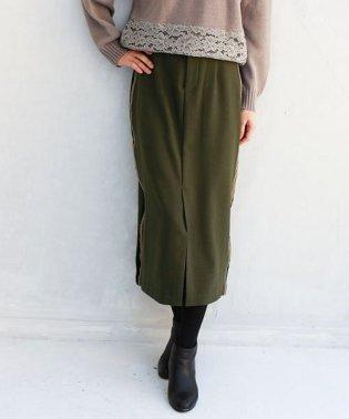 Lupino サイドラインタイトスカート